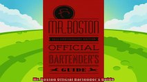 read now  Mr Boston Official Bartenders Guide