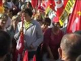 Manifestation contre la réforme des retraites le 23 septembre 2010 à Clermont-Ferrand.