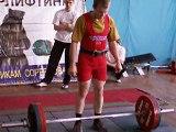 Powerlifting Championships of Irkutsk 23.02.2009 Deadlift 17