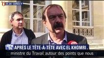 Rendez-vous entre Martinez et El Khomri sur la loi Travail : désaccords confirmés