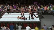 WWE 2K16 daniel bryan v stardust v adam rose v randy orton