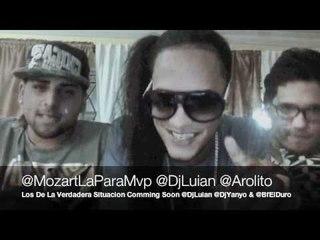 """Mozart La Para Freestyle Con Dj Luian """"Por Culpa Del Barcelo"""" 2012"""