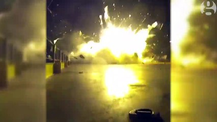 Falcon 9 rocket's failed landing [15-06-2016]
