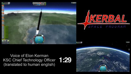 Elon Kerman's Reusable Rocket