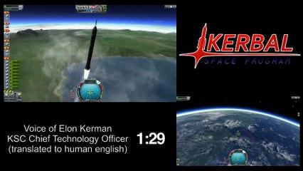Elon Kerman's Reusable Rocket