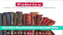Read Fabrics: A Guide for Interior Designers and Architects (Norton Professional Books for
