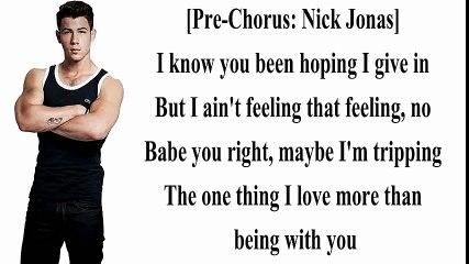 Nick Jonas - Bacon Ft Ty Dolla $ign ( Lyrics Vidéo ) HD.