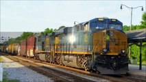 [CSX]5398 ES40DC & 2 Others Leads U325-17 Empty Coal Train Headed Be Reloaded Coming Through  Fay NC