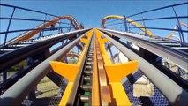 manege roller coaster extreme accrochez vous sensation forte strong feeling
