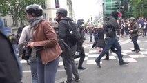 2h de violences entre CRS et casseurs lors des manifs du 14 juin 2016 à Paris