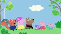 Peppa Pig listens to grown up music.