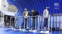 On a testé le parc d'attractions de réalité virtuelle de Samsung à Paris