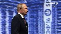 Sanctions: Poutine, pas «rancunier» envers les Européens