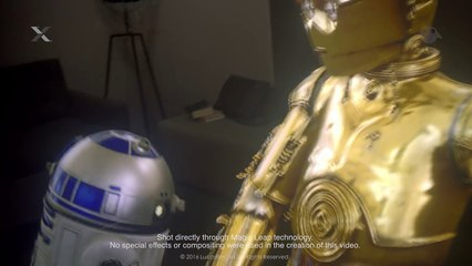 "ILMxLAB and Magic Leap ""Lost Droids"" Mixed Reality Test"