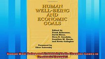 Popular book  Human WellBeing and Economic Goals Frontier Issues in Economic Thought