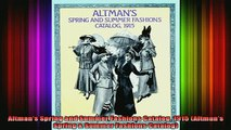 READ book  Altmans Spring and Summer Fashions Catalog 1915 Altmans Spring  Summer Fashions Full Free