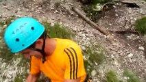 Ferrata Sandro Pertini / Sandro Pertini Iron Way - Puez-Odle Dolomites - 27/07/2014