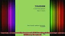 DOWNLOAD FREE Ebooks  Tourism A Community Approach RLE Tourism Routledge Library Editions Tourism Full EBook