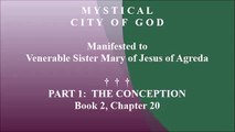 Book 2 - Chapter 20 - Mystical City of God: Divine History & Life of Mary, Mother of God