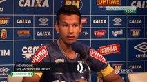 Henrique prevê jogo difícil contra o tricolor gaúcho mas garante que o Cruzeiro vai em busca da vitória