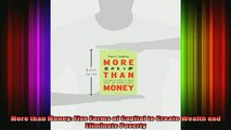 DOWNLOAD FREE Ebooks  More than Money Five Forms of Capital to Create Wealth and Eliminate Poverty Full Free