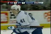 Toronto Maple Leafs (1) @ Ottawa Senators (2) Shootout November 27, 2008