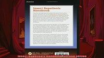 EBOOK ONLINE  Insect Repellents Handbook Second Edition  FREE BOOOK ONLINE