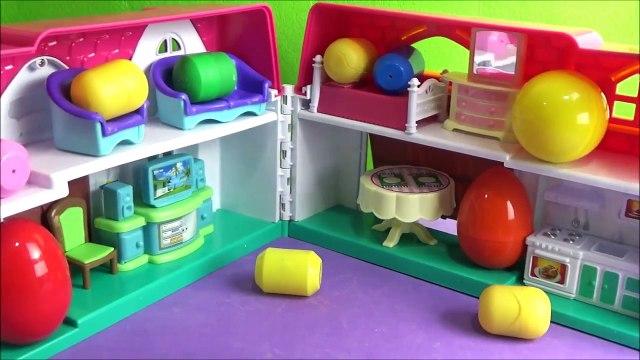 Videos de huevo sorpresa para los niños DORA de PEPPA PIG MICKEY MOUSE BOB ESPONJA HELLO KITTY