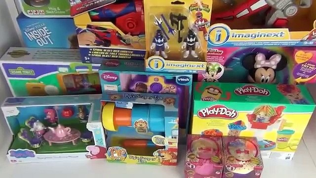 New  Toy Shopping Haul & Baby Jacob Peppa Pig Doc Mcstuffins + Many More Toys  2016