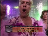 Ric Flair & Arn Anderson vs Sting & Lex Luger, WCW Monday Nitro 10.06.1996