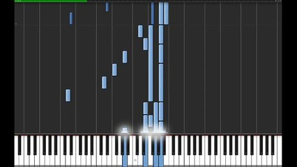 Chopin - Nocturne No.19 in E minor Op.72-1 Synthesia 50% speed tutorial