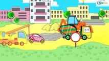 ✔ Dessins animé voiture. Grue pour enfants. Tiki Taki  Dessins Animés  ✔