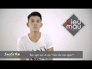 Siêu mẫu Việt Nam 2015: Phỏng vấn thí sinh Giả Thanh Vũ