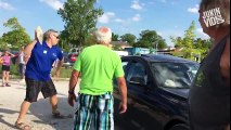 Viral Video_Man Breaks Window To Save Dog Trapped in Hot Car_HD