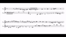 """Canon 2 in 1 in G- at the major 7th on 4 notes from """"Nun komm der Heiden Heiland"""" by Claudi Meneghin"""