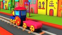 ABC La chanson des animaux de BOB   bob le train en français   Bob compilation française