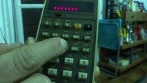 Calculator Hp 27 calcolatrice calculadora Taschenrechner vintage