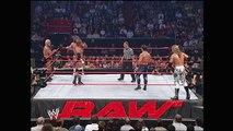 Chris Benoit & Edge vs. Triple H, Ric Flair & Eugene: Raw, July 5, 2004