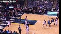 Actuación COMPLETA de Andrew Wiggins y Karl Anthony Towns vs Memphis Grizzlies   24 pts combinados  