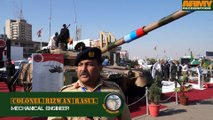 Al Khalid main battle tank HIT Heavy Industries Taxila Pakistan Pakistani army IDEAS 2014 defense