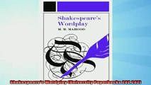 FREE DOWNLOAD  Shakespeares Wordplay University Paperbacks 242 242  DOWNLOAD ONLINE