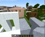 The first modern house | minecraft lets build