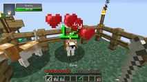 PAT and JEN PopularMMOs Minecraft: DOGGYSTYLE MOD (DOG BREEDS, DOG HOUSE, & MORE!)