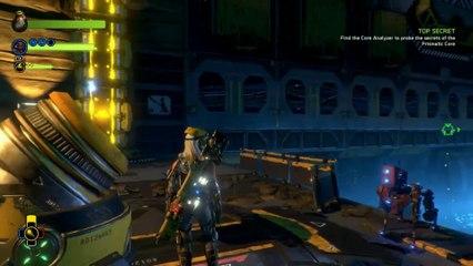 2 minutes de gameplay de Recore