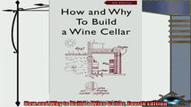favorite   How and Why to Build a Wine Cellar Fourth Edition