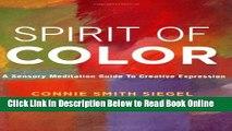 Read Spirit of Color: A Sensory Meditation Guide to Creative Expression  PDF Free