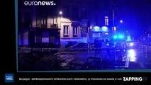 Belgique : Impressionnante opération anti-terroriste, 12 personnes en garde à vue (Vidéo)