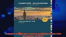 complete  Computer Accounting Essentials Using QuickBooks 2015 QuickBooks Software