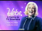Morre Hebe Camargo - boletim da Rádio Jovem Pan (15:05h, 29/09/2012)