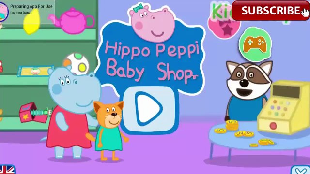 Peppa Pig Shopping Peppa Pig With Hippo go shopping best app for kids